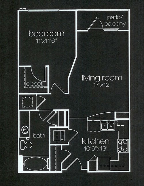 Axis Floor Plan | Furnished Apartments Atlanta