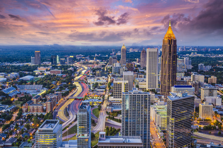 Atlanta Aerial View | Furnished Apartments Atlanta