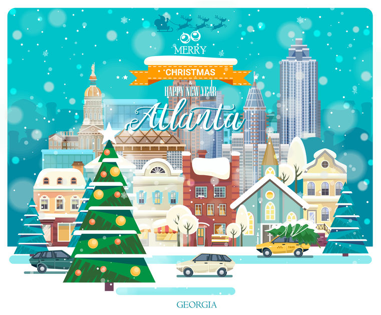 Happy Holidays Atlanta | Furnished Apartments Atlanta